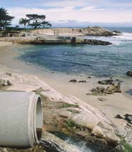 Sewer Adds to Ocean Pollution